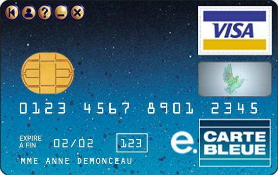 À quoi ressemble une E-carte bleue