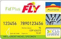 Fly : La carte de crédit Aurore  Fly : La carte de crédit Aurore