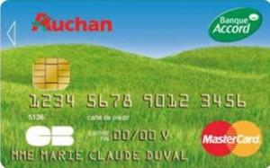 Carte accord Auchan