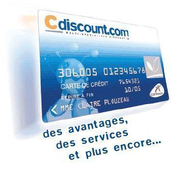 La carte de paiement C Discount
