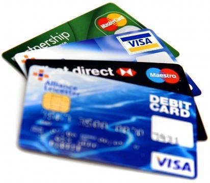 lampe de carte bancaire débit crédit