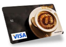 Carte bancaire Visa virtuelle