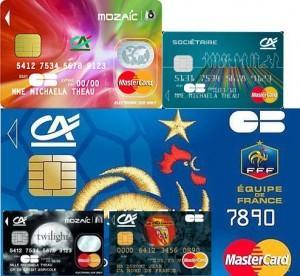 Cartes Crédit Agricole