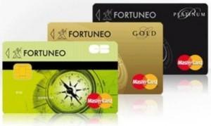 Gold Mastercard de Fortuneo