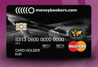 MasterCard Prépayée Moneybookers skrill
