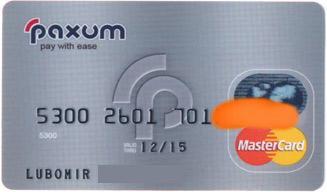 Paxum-card